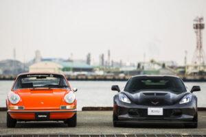 """【コルベット】スポーツカー、""""新型""""アメリカ車と""""旧車""""欧州車を比べてみた。【ポルシェ】"""
