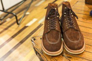 夏にもワークブーツはあり? 初夏の足元をカッチリさせたいなら「スウェード靴」がオススメ!
